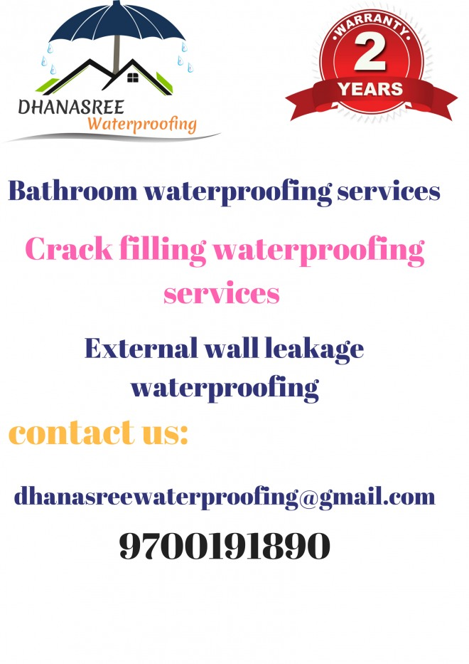 waterproofing in Hyderabad