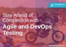 Agile and DevOps testing