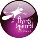 Flying Squirrel Holidays Logo